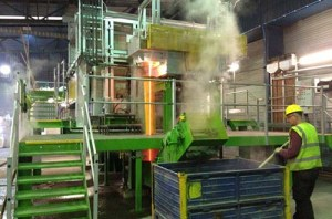 Nulife Glass Furnace in Kent, England