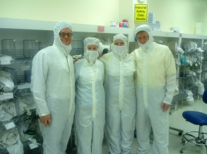 Ready for the Clean Room at RIT
