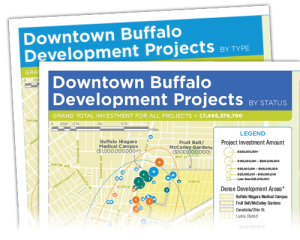 New Downtown Buffalo, NY Developments Maps Now Available