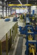 Steel processing in Buffalo Niagara.