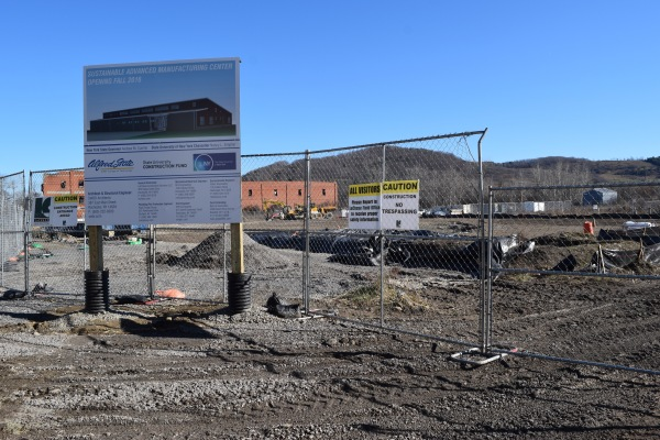 Constuction of the Sustainable Advanced Manufacturing Center at Alfred State College