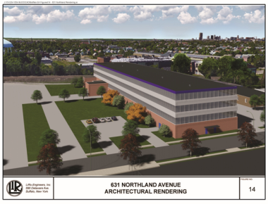 Architectural Rendering of 631 Northland